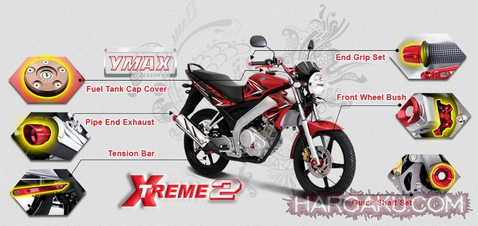Harga Aksesoris Motor YAMAHA Vixion Terbaru JANUARI - FEBRUARI 2015
