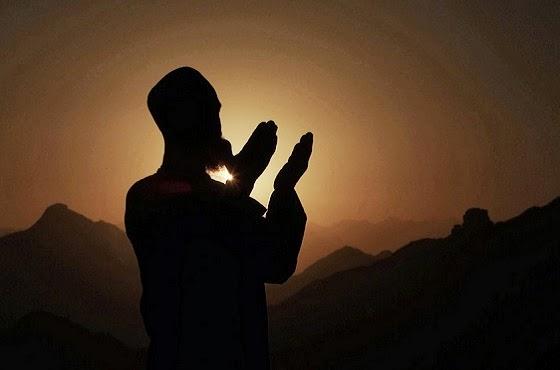 siluet doa