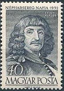 Sello con grabado de Miklos Zrinyi (1620-1664)