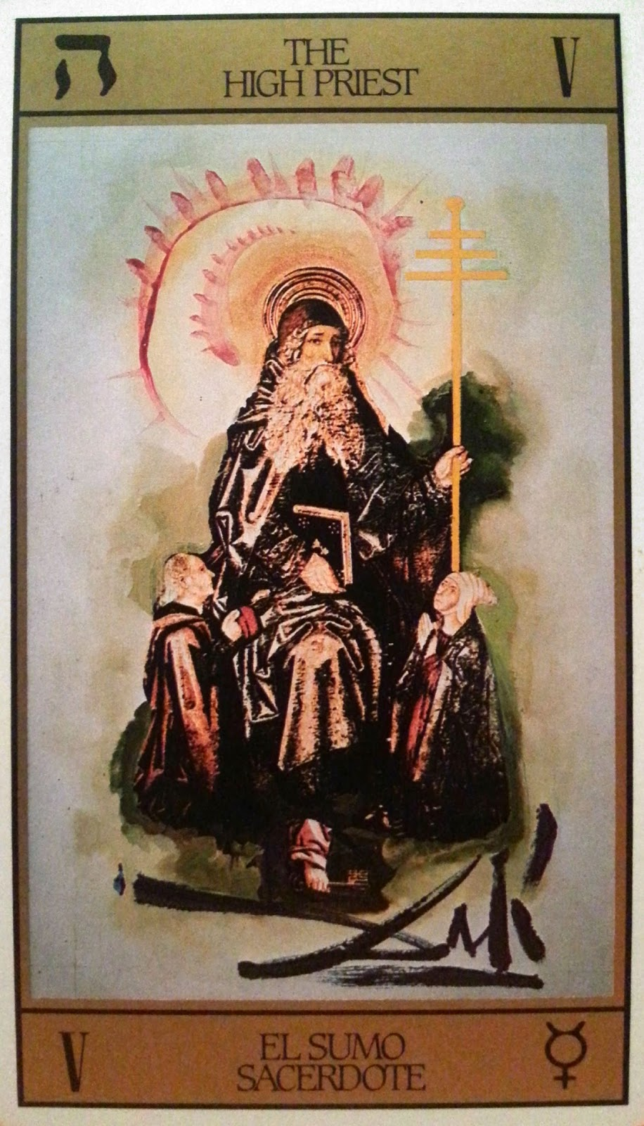 Sumo Sacerdote- Arcano V