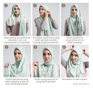 Tips Cantik Cara Memakai Hijab Modern Dengan Benar