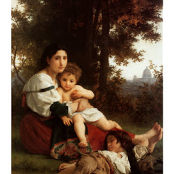 "Bougereau, William ""Mother and Children"""