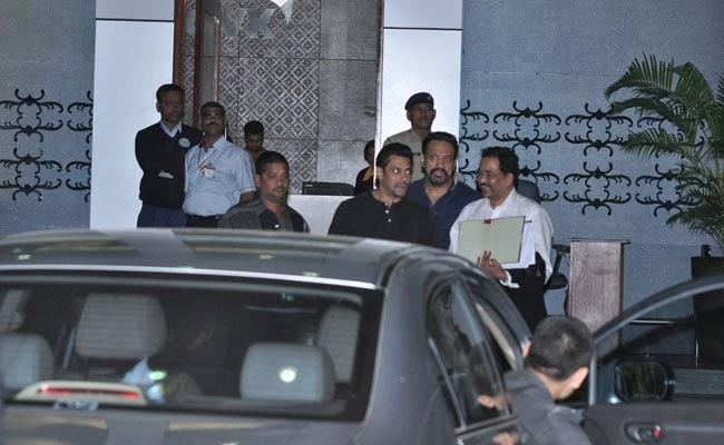 Salman Khan returns from Jodhpur