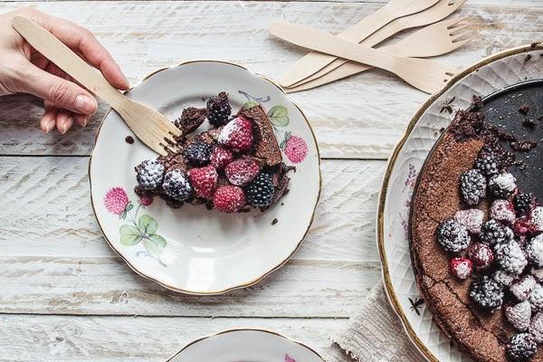 Flourless Swedish Chocolate Cake KLADDKAKA + gifs recipe thisisasweetblog