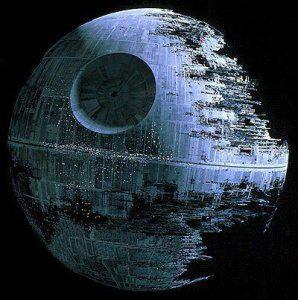 Diapositives cr atives projets pour le primaire - L etoile noire star wars ...