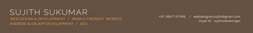 Freelance Web Designer in Kerala |  Best Web Designer  Kerala |  Web Designer Cochin