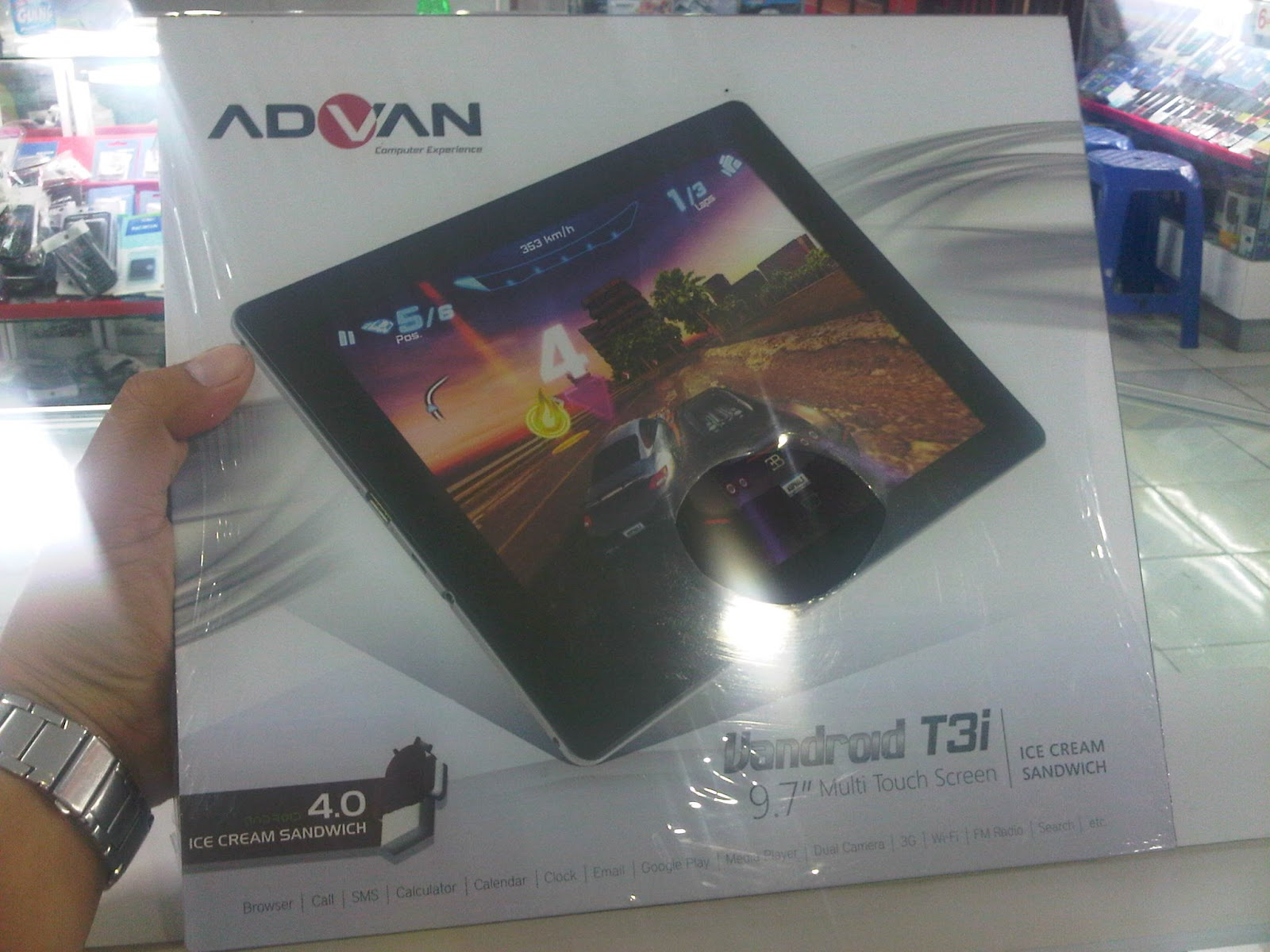 Ria Phone Shop Advan T3i Tablet 97 Inch Dengan Fungsi