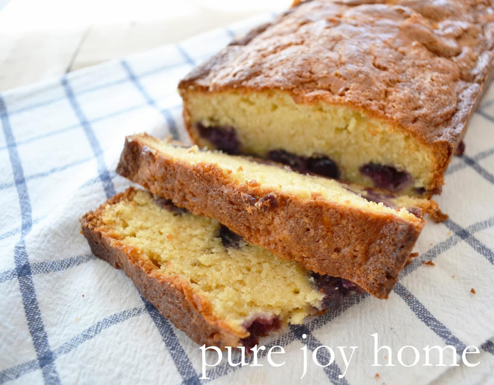 Honey Lemon Pound Cake Ina Garten