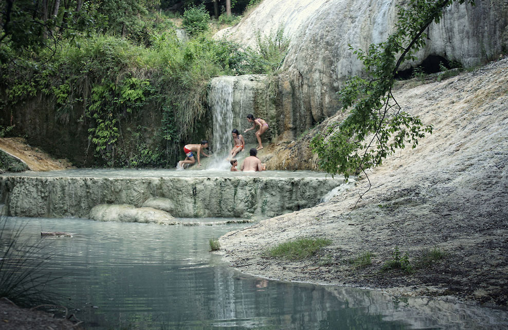 Da bagno vignoni a bagni san filippo passando per seggiano - Bagni san filippo terme ...
