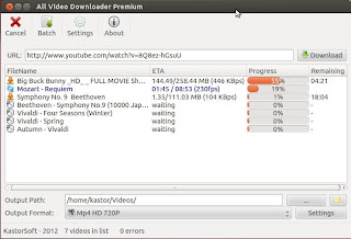 Descarga cualquier vídeo de Internet con All Video Downloader en Ubuntu, descargar música de vídeos en ubuntu