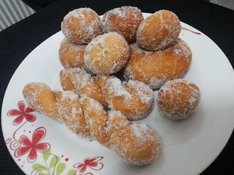 Tertunailah Hasrat Di Hati: Resepi Donut Lembut Dan Gebu
