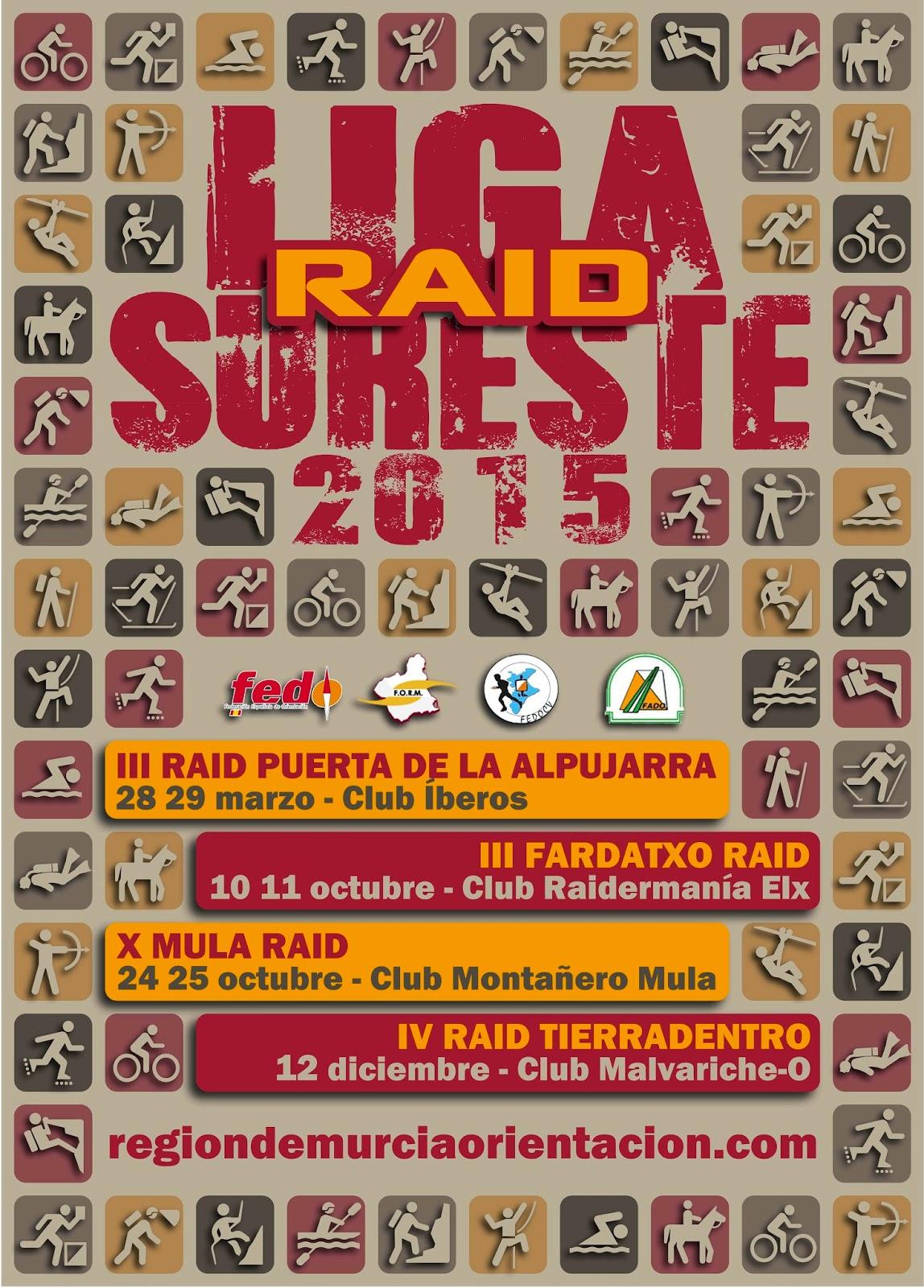 Liga del sureste de Raid 2015