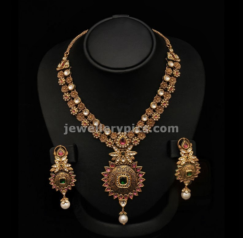 vummidi gold necklace designs