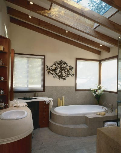 Attic Bathroom Design Ideas 400 x 507