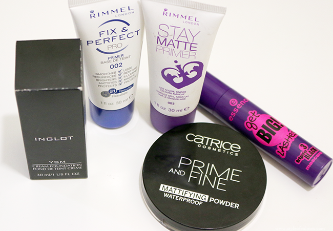 Beauty Haul - Makeup (Rimmerl, Inglot, Catrice, Essence)