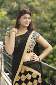 Sagarika glamorous photos in saree-thumbnail-5