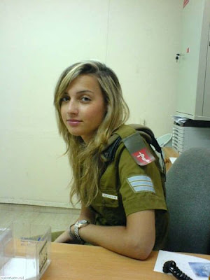 Senator Blutarsky: Rule 5 Post: Girls with Guns, IDF Edition