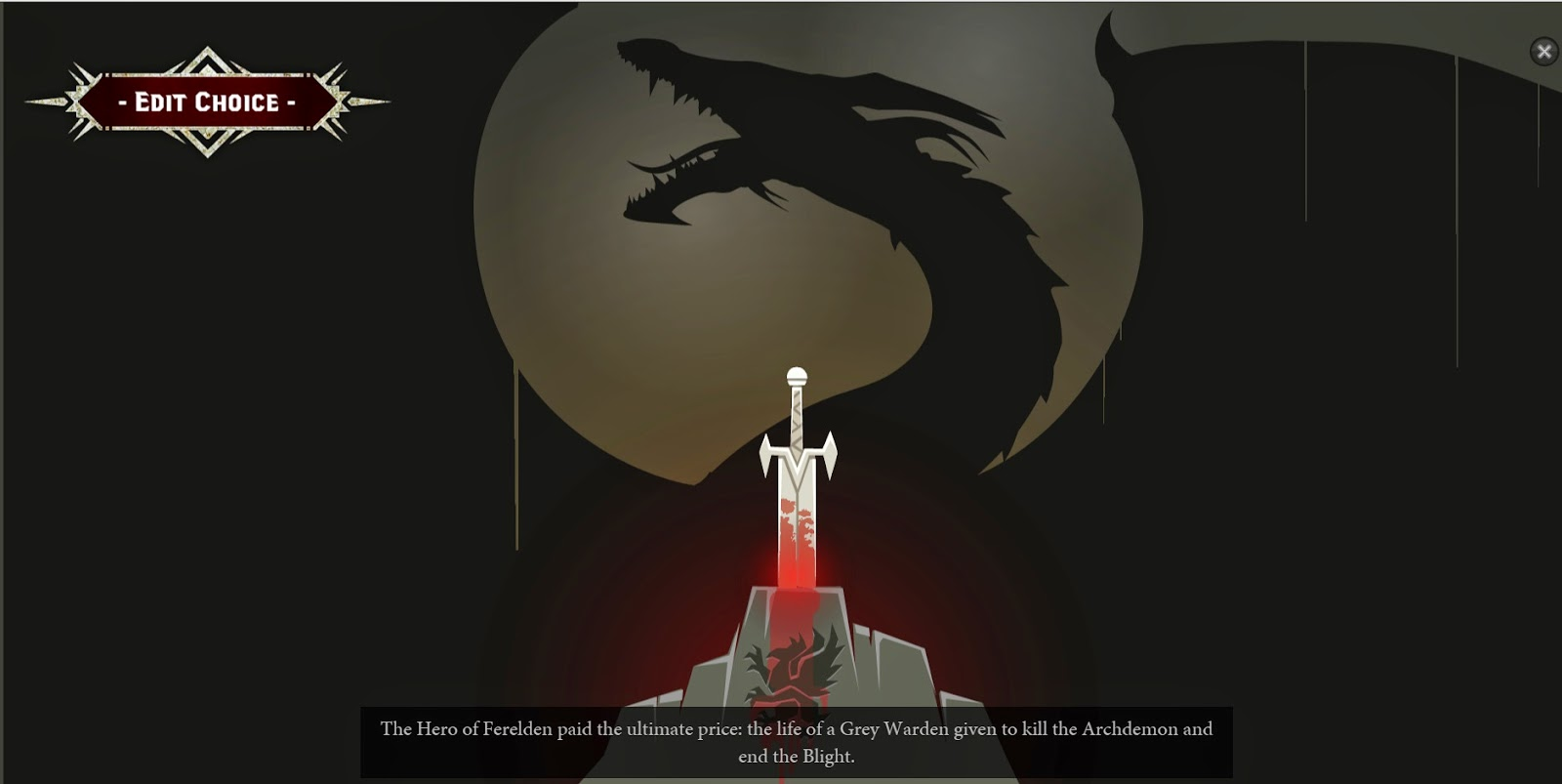 dragon age keep narracion