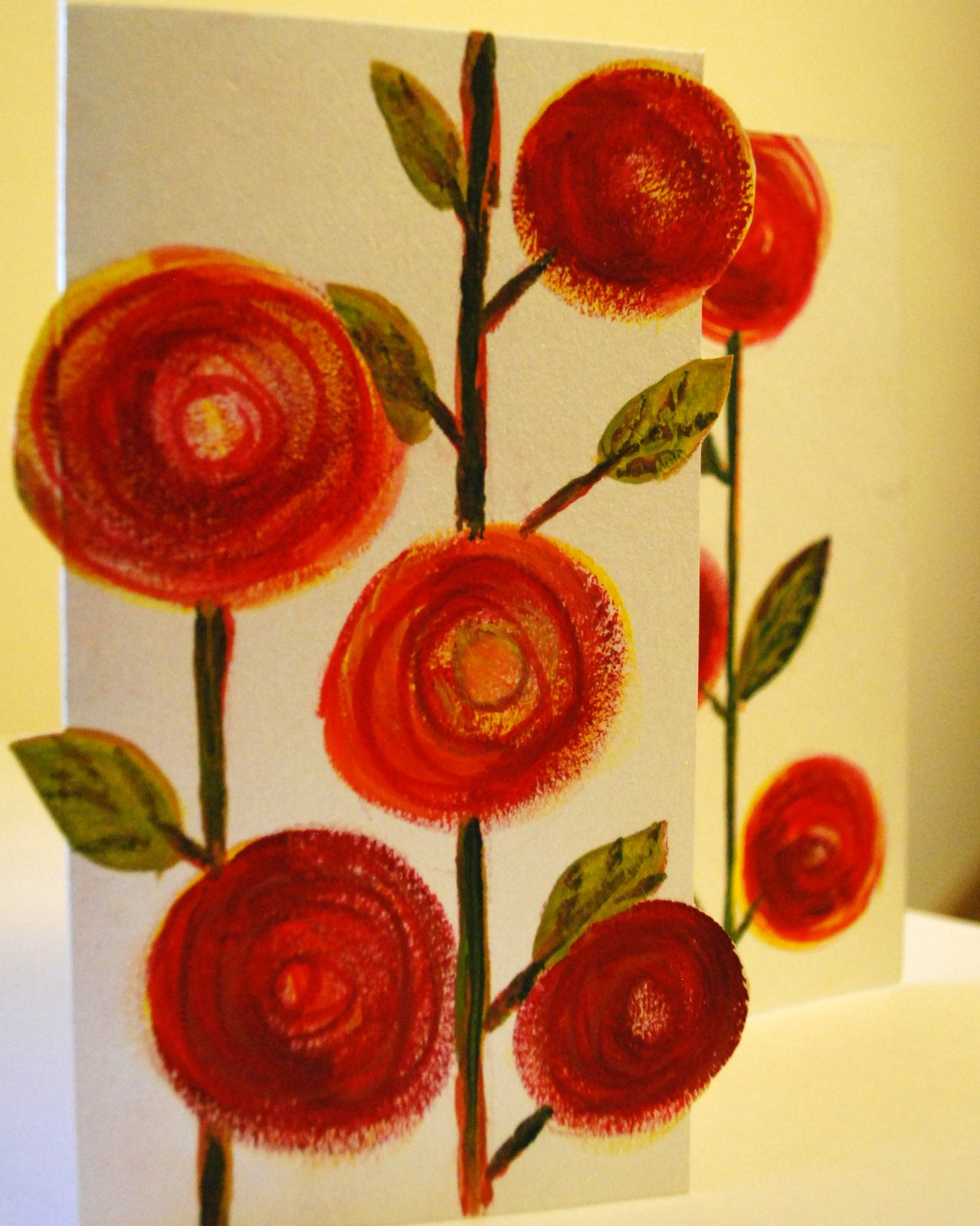 Artist who blogs festive season greeting cards painted greeting cards kristyandbryce Gallery