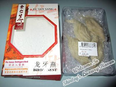 how to cook eu yang san birds nest