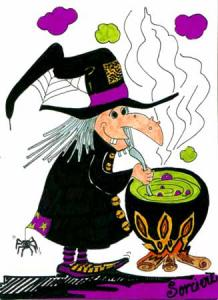 Interfle octobre 2011 - Faire une sorciere pour halloween ...
