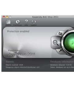 Kaspersky Anti-Virus 2011 for Mac Users