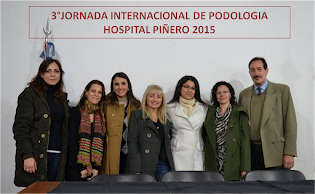 3° JORNADA INTERNACIONAL DE PODOLOGIA  2015