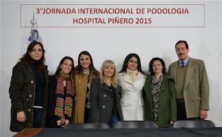 3° JORNADA INTERNACIONAL DE PODOLOGIA  2015
