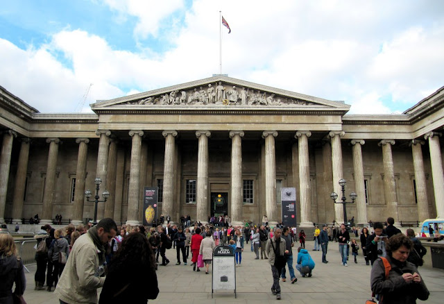 The British Museum South entrance
