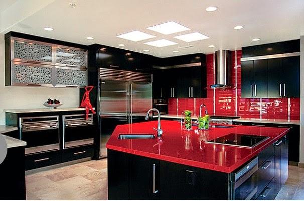 Meble do kuchni Kolory w kuchni -> Kolory Kuchni Sciany