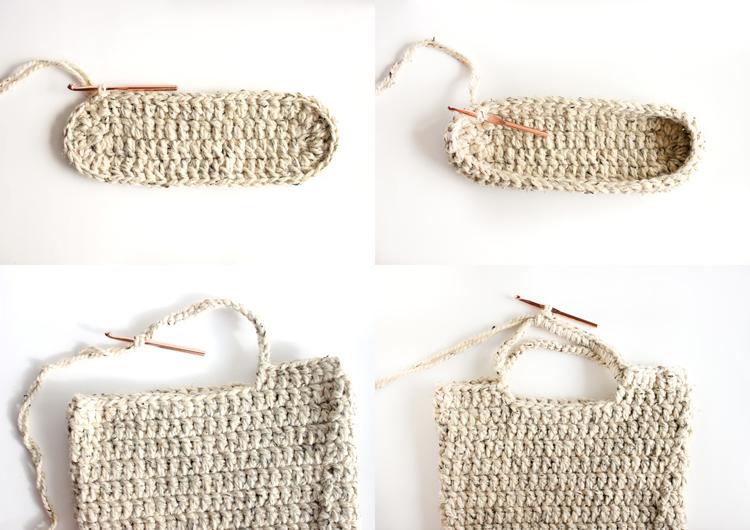 Tecendo Artes em Crochet: Bag Simples e ?til com Passo a ...
