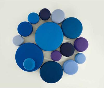kanepe, mobilya, renkli, yuvarlak,mavi,mor,lila