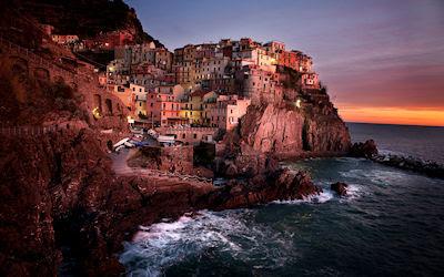 Ciudad de Manarola, Cinque Terre, Italia. - Italy free photos