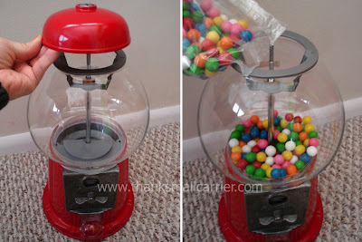 gumball machine fill