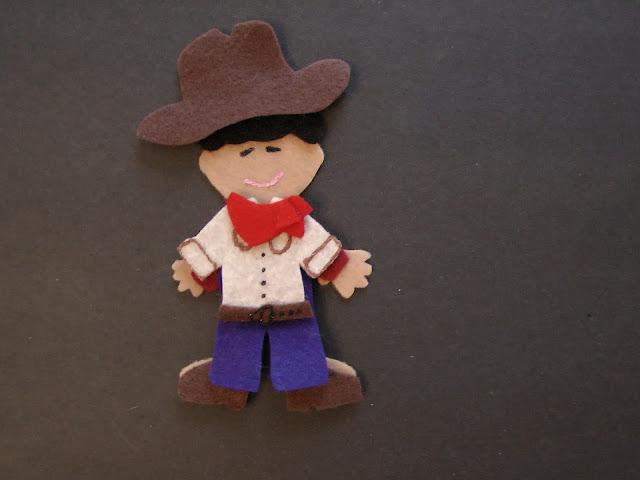 Felt Board Cowboy 2