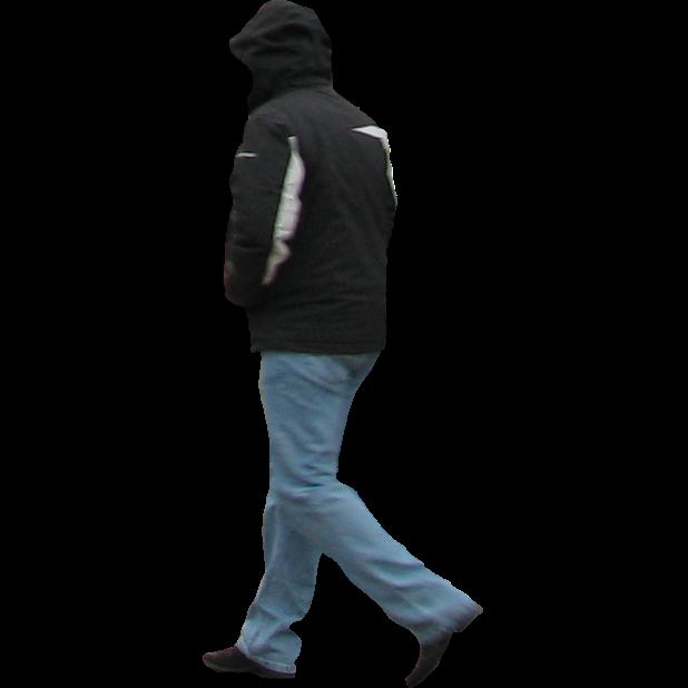 Immediate Entourage Man In Winter Jacket
