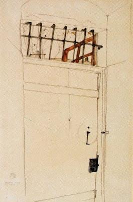 La porta a l'obert (Egon Schiele)