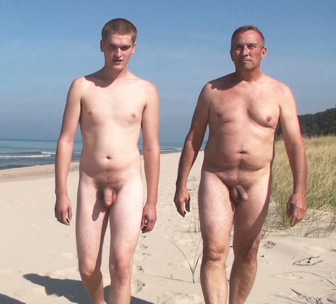 dads and sons naked pictures