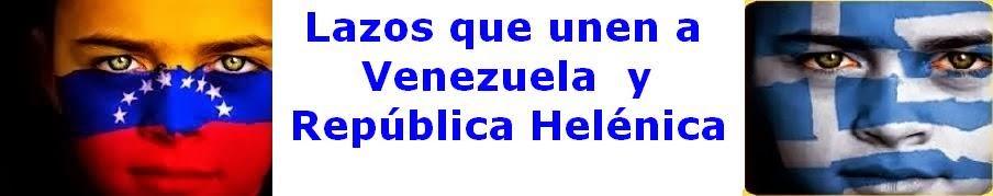Lazos que unen a Venezuela y Grecia