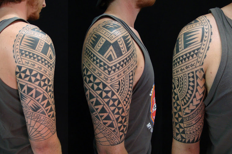 samoa style mix polynesian seas tattoo @ tiki tattoo thailand