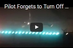Chemtrail-pilóta elfelejti lekapcsolni leszálláskor a szórófejeket