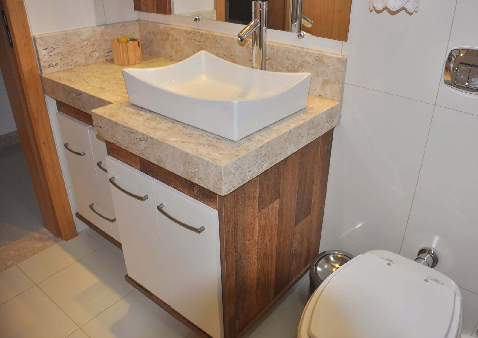 2011 04 10 Marmoraria MPK #956736 1600x1133 Banheiro Com Granito Travertino