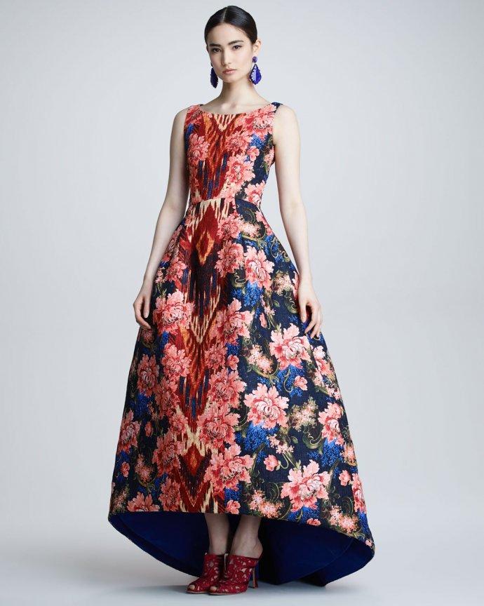 11517 1 2013 Çiçekli elbise modelleri