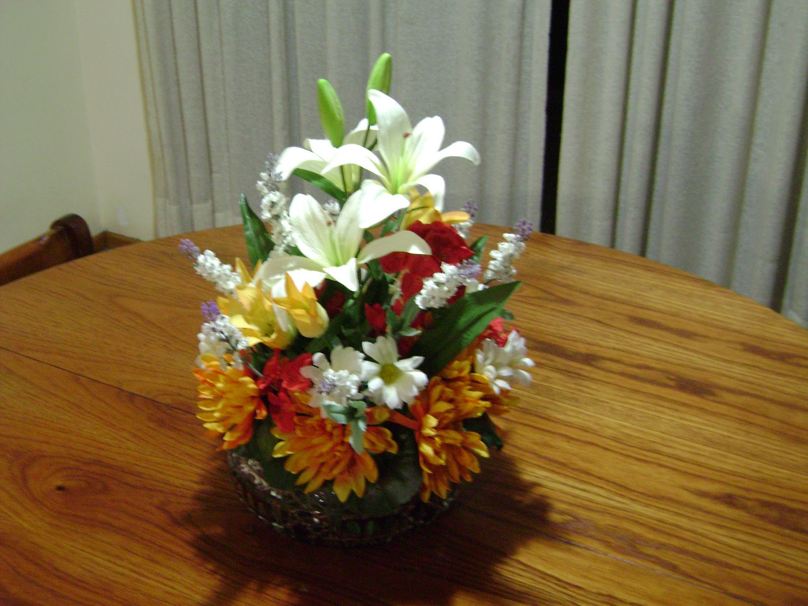Arreglos florales para mesas artificiales imagui for Centros de mesa artificiales