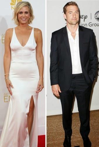 Are Kristen Wiig and Scott Speedman as a couple