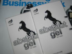 ABSOLUT gel  sangat berkhasiat untuk mengobati atau mencegah ejakulasi dini.