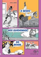 Quadrinhos no livro O NEGRO NOS QUADRINHOS DO BRASIL - Nobu Chinen - ed. Peirópoilis (2019)