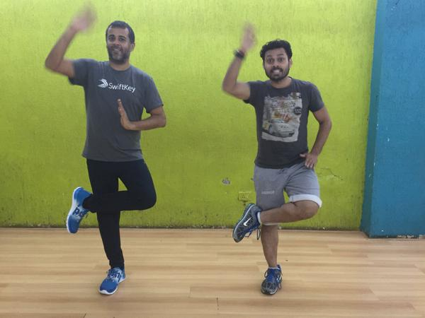 For a country mildly upset about shock defeat to Zimbabwe in T20 Cricket on Sunday, Nach Baliye 7 judge Chetan Bhagat brought loads of cheer with his dancing.