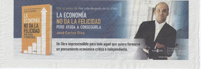 Faldón de... La economía no da la felicidad, de J.C. Díez