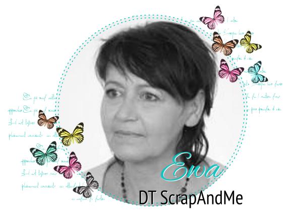 Projektowałam dla ScrapAndMe